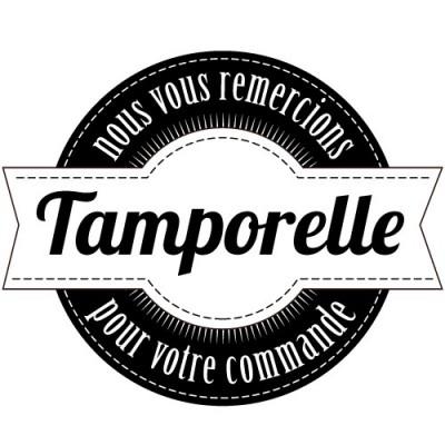 Tampon merci à personnaliser Tamporelle