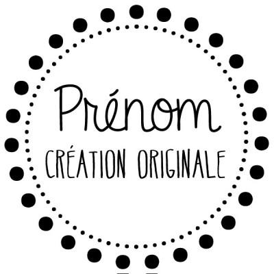 Tampon couture prénom à personnaliser Tamporelle