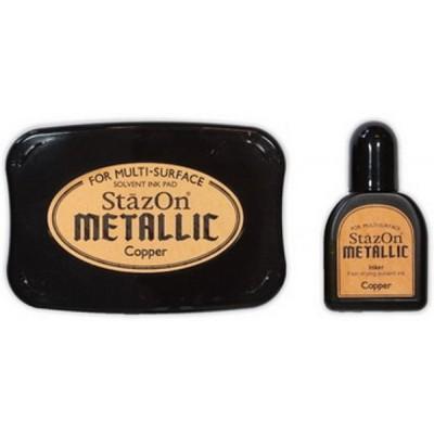 Stazon metallic copper