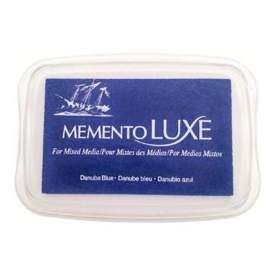 Encre Memento Luxe danube bleu 9 cm x 6 cm Tsukineko