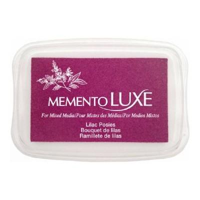 Encre Memento luxe bouquet de lilas 9 cm x 6 cm Tsukineko