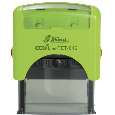 Tampon automatique personnalisé éco line Shiny