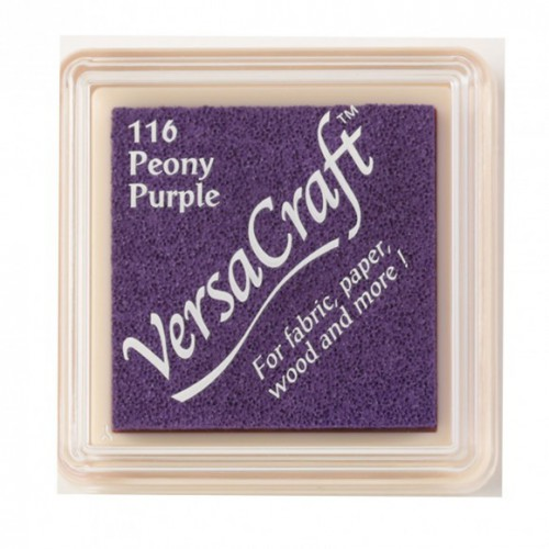 Versacraft mini peony purple Tsukineko