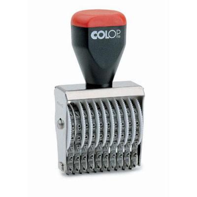 Numéroteur 10 bandes 3 mm Colop
