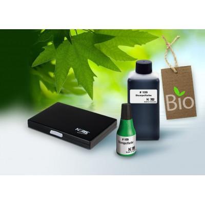 Encre biodégradable écologique tampon
