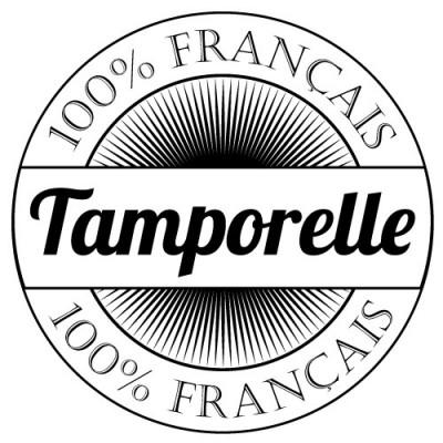 Tampon textile logo entreprise sur mesure