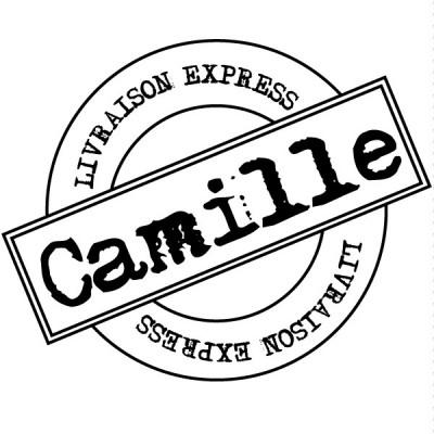Tampon livraison express rond 5 cm à personnaliser Tamporelle