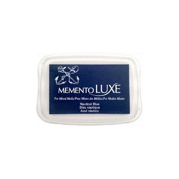 Encre Memento Luxe bleu nautique 9 cm x 6 cm Tsukineko