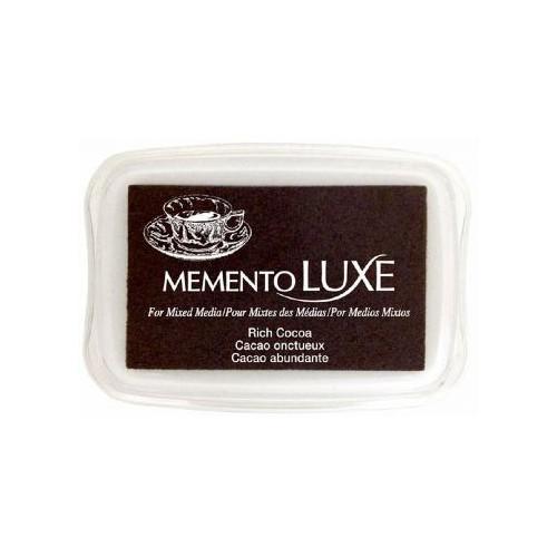 Encre Memento Luxe cacao onctueux 9 cm x 6 cm Tsukineko