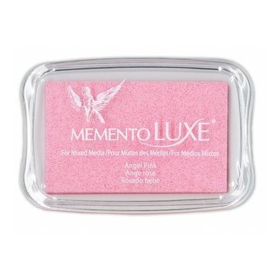 Encre Memento luxe ange rose 9 cm x 6 cm Tsukineko