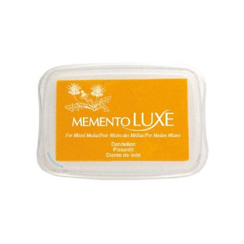Encre Memento luxe pissenlit 9 cm x 6 cm Tsukineko