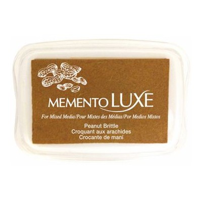 Encre Memento luxe croquant aux arachides 9 cm x 6 cm Tsukineko