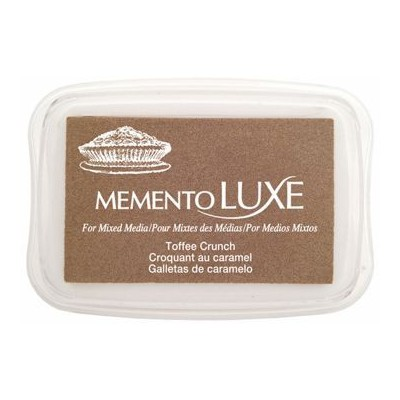 Encre Memento luxe croquant au caramel 9 cm x 6 cm Tsukineko