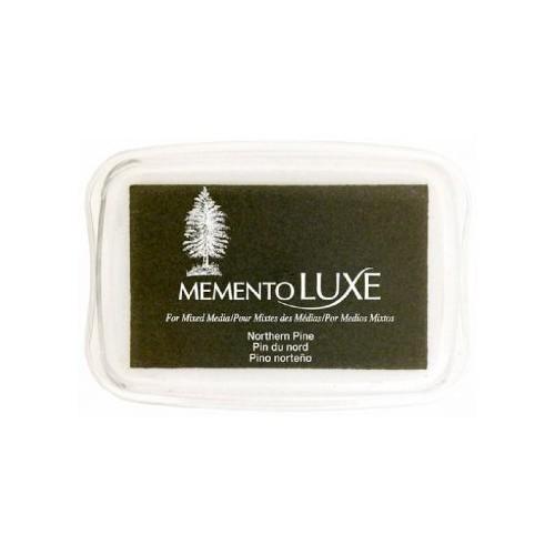 Encre Memento luxe pin du nord 9 cm x 6 cm Tsukineko