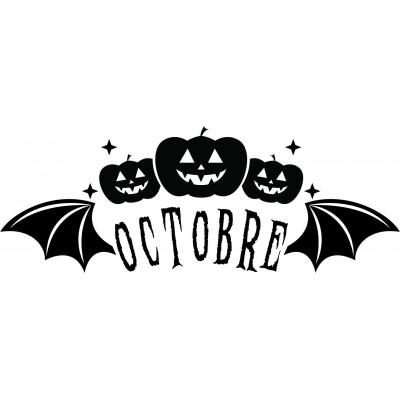 Tampon octobre à personnaliser