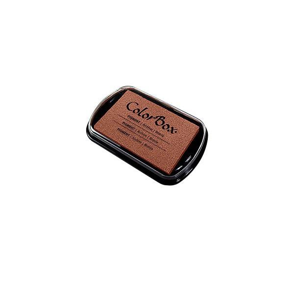 Encre colorbox bronze 7.50 cm * 4.50 cm