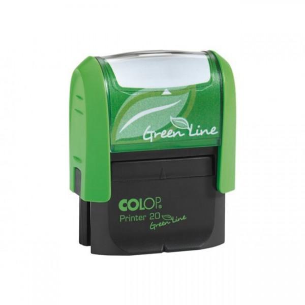 Tampon automatique à personnaliser green line Colop