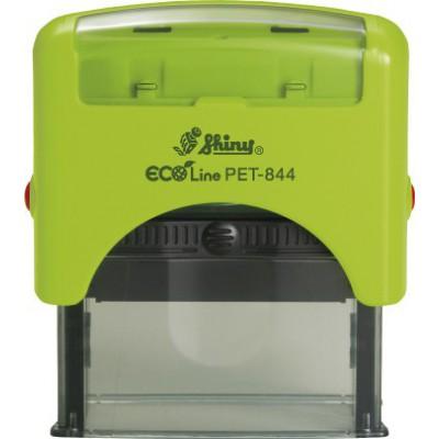 Tampon automatique 58 * 22 mm éco line PET Shiny