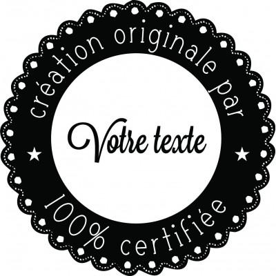 tampon logo personnalisé artistique
