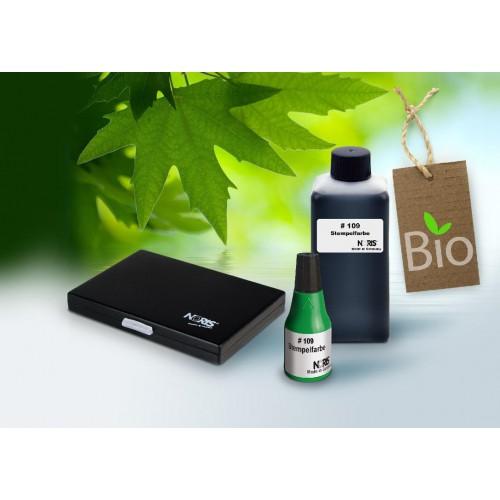 Encre biodégradable pour tampon encreur Noris