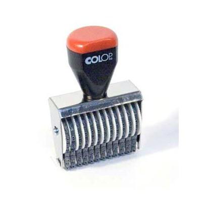 Numéroteur 12 bandes 3 mm Colop
