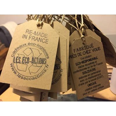 Tampon étiquette vintage à personnaliser 5 cm  Tamporelle