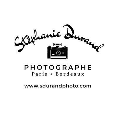 Tampon personnalisé photographe logo bois