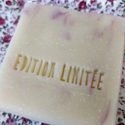 Tampon savon édition limitée acrylique bois