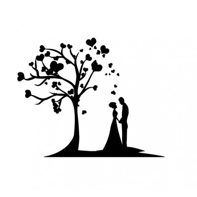 Tampon savon colombe mariage acrylique bois