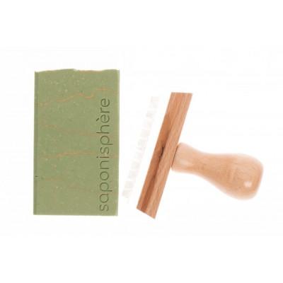 Tampon savon pissenlit acrylique bois