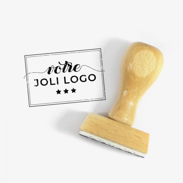 Votre tampon logo d'après votre visuel, photo