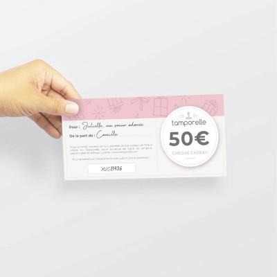 Chèque Cadeau - 50€